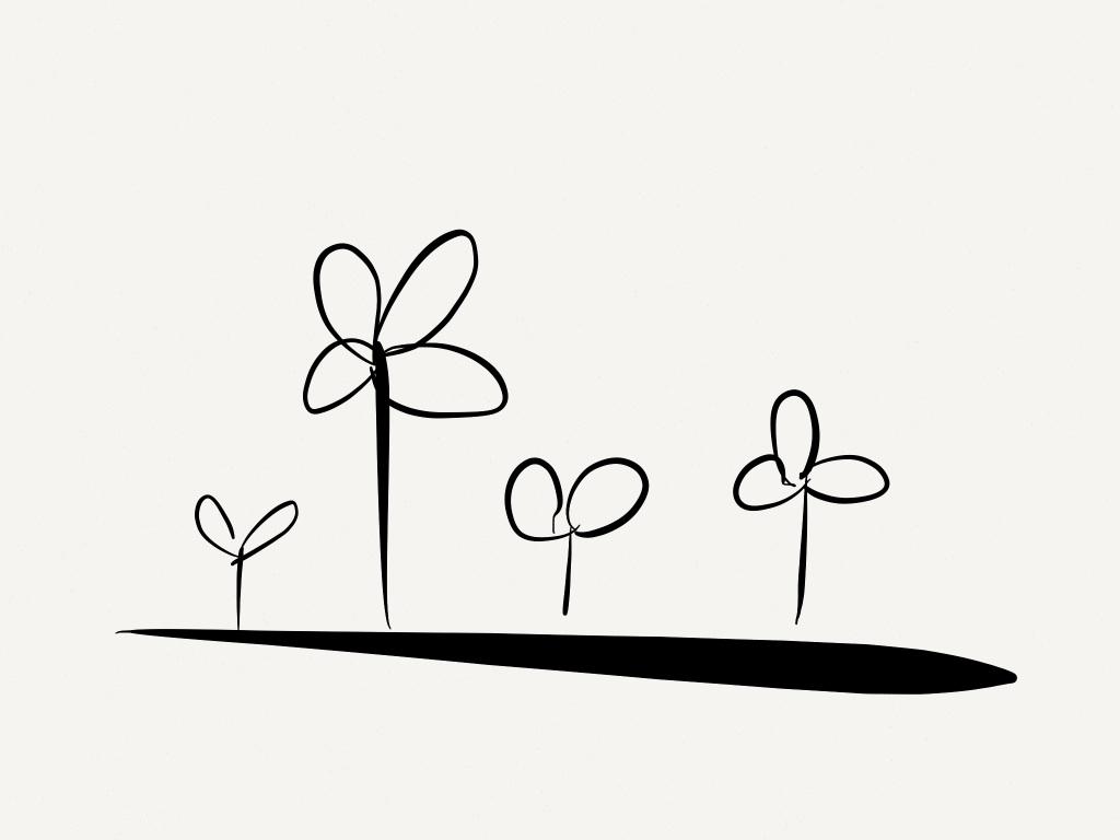 An idea garden