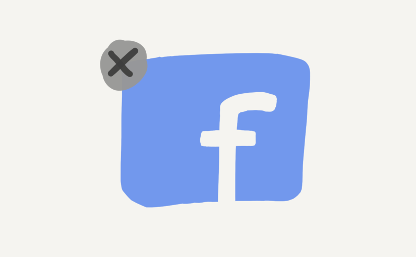 Bye bye Facebook